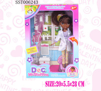 plastic sex black doll,baby dream doll with doctor set