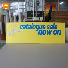 Custom advertising decorative pp honeycomb board