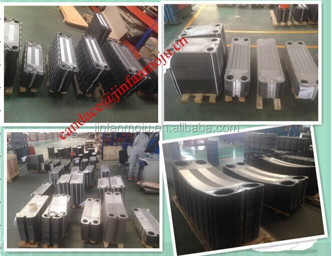 High quality, M3-M30 gasket plate heat exchanger