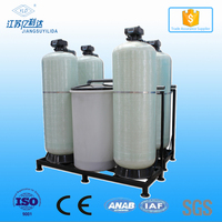 One Duty One Standby Cabinet Water Softener,Continuous 24 hours Working Automatic Water Softener,