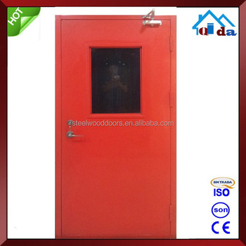 1 Hours Exterior Fire Resistant Door With Panic Push Bar