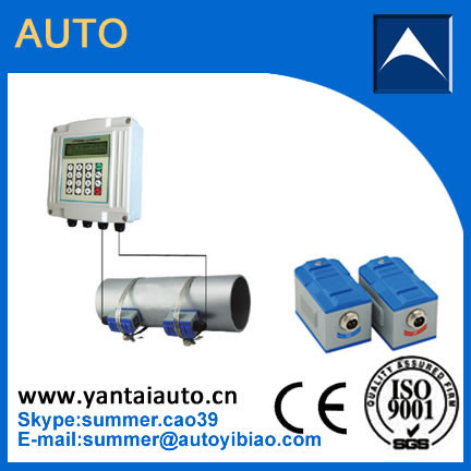 Cheap fixed ultrasonic Flowmeter water flowmeter Made In China