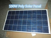 China Top 10 Manufacture High Quality 150W Poly Solar Panel with 36 cells series