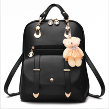 Hot Selling 2018 Fashion Women Mini Backpack For School Girls, laptop backpack