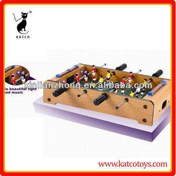 MDF table game football table,soccer table with sound & light
