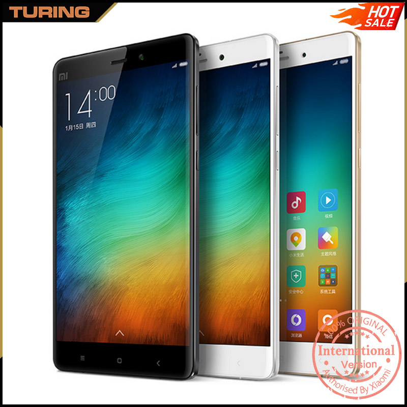 Xiaomi Mi Note 5.7 Inch Screen Smart Mobile Phone 3GB RAM 16GB ROM Android 6.0 Snapdragan 801 Quad Core 5.7 inch 13MP
