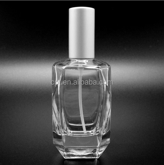 wholesale 100ml clear glass perfumes bottles