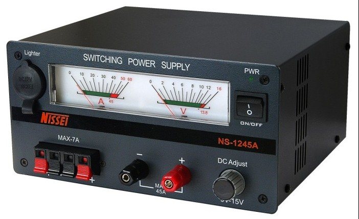 NS-1245A 13.8V adjustable 45Amps switching mode power supply