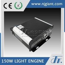 150W Led Rgb Optical Fiber Light Source Engine With Remote Control Dmx Type