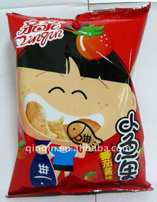 65g Crisp Snack Fish Style/rice crackers