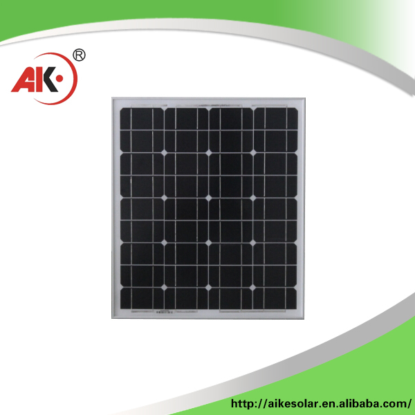 Continued hot mono 50 watt solar panel pv module