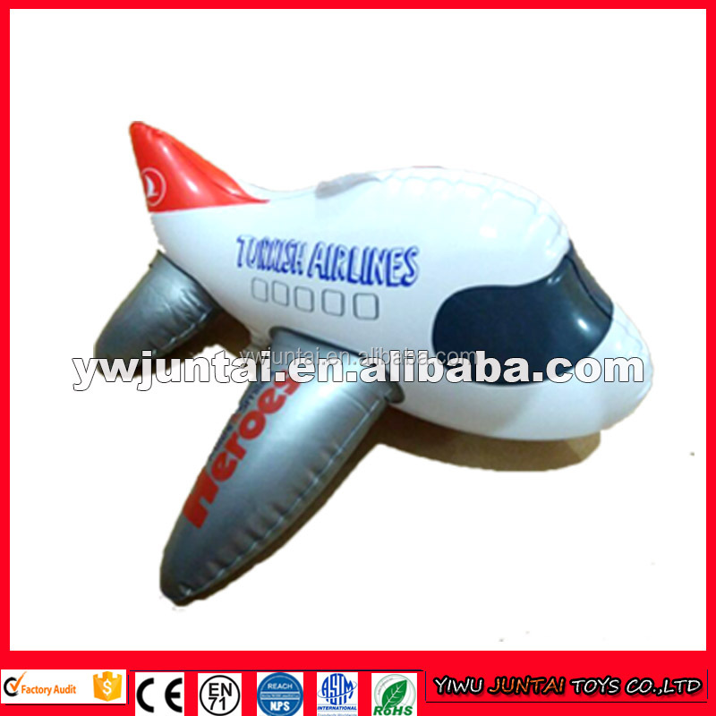High quality cheap inflatable airplane with custom logo printed for advertising