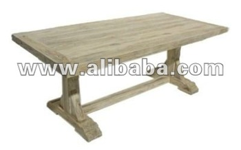 Dining Table 5cm Top - Reclaimed Teak Furniture