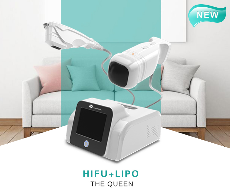 5 hifu transducer 2d 3d mini liposonic hifu slimming machine