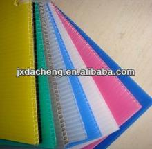 Good quality polypropylene pp hollow corrugated board /coroplast/correx/coreflute/corflute/flute board