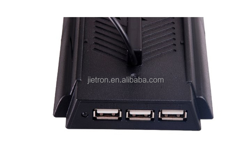 2015 new design For PS4 Vertical Cooling Stand With HUB from Jietron China supplier