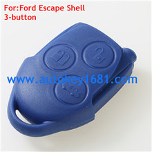3 Button Blue Remote Key Shell Fits For ford Transit Escape Case Shell