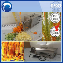 electric Tower potato chips/tornado potato cutter/spiral potato chips cutting machine//0086-13673629307