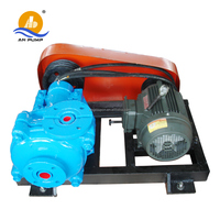 AMC Belt driven small centrifugal mining dirty water with solid slurry pump