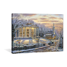 Modern Wall Art Decor Painting Christmas Picture Printed LED Paintings