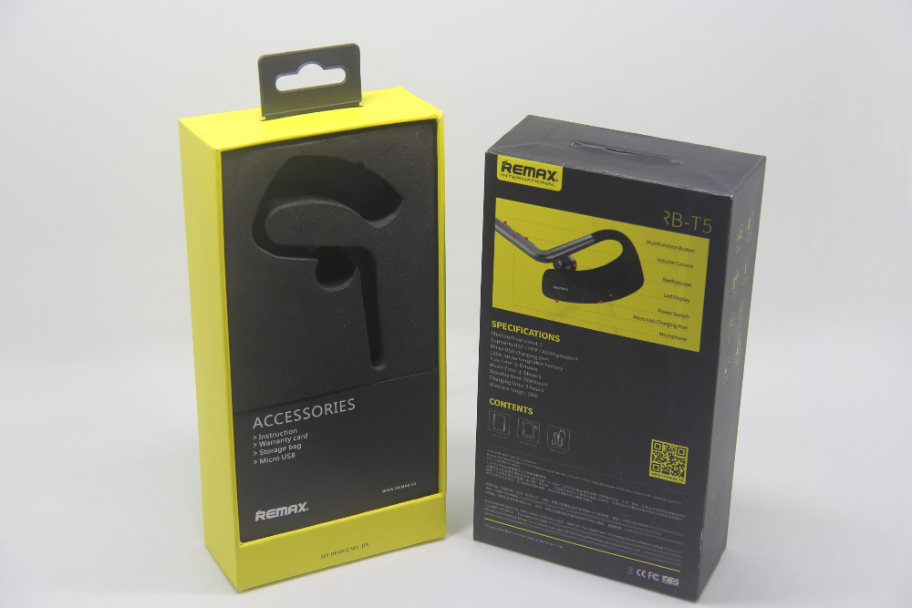 Hard case Electronics Headset usb ear Phone device packaging boxes