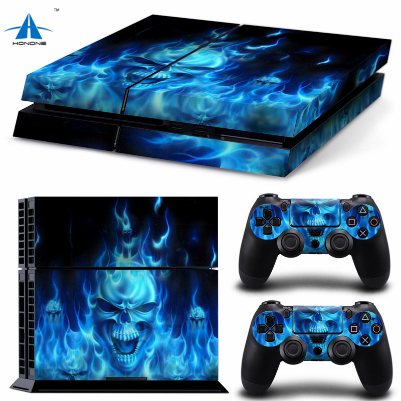 Fashion Vinly Skin Game Sticker for PS4 PlayStation 4 & 2 Controller Skins PS4 Sticker Skin for Console and Controller Sticker