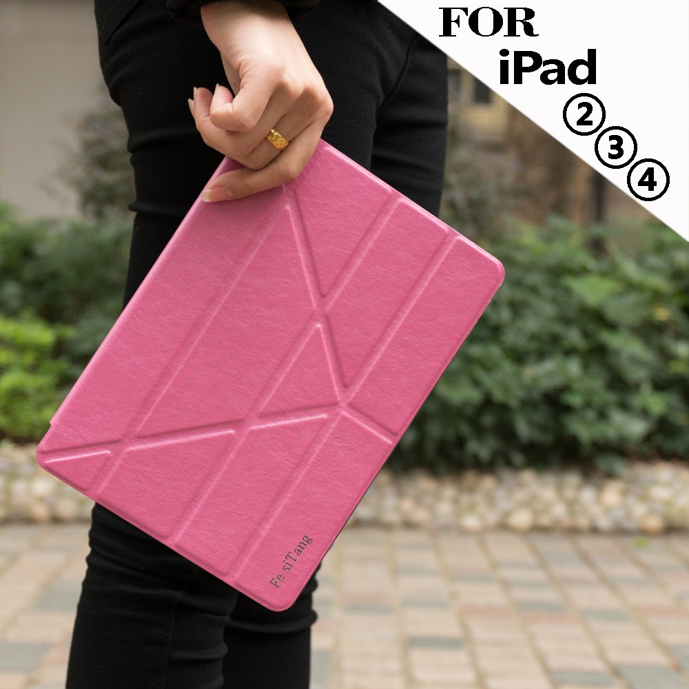 High Qulity Hot Selling Flip Leather Tablet Case for iPad leather Cases , for iPad tablets