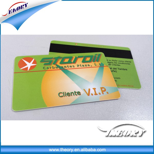 New Promotional pvc magnetic strip card