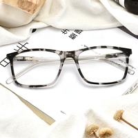 Factory wholesale new model optical frame fashion acetate optical glasses frames