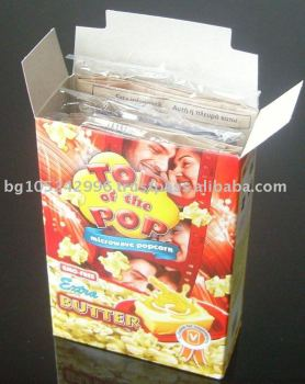 "Microwave popcorn ""Top of the Pop"" - Butter ( 3x100g.) display box"