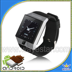 Latest Hand Watch Mobile Phone S5 MTK6577 Dual Core Smartwatch Android 4.0 Cheap Price