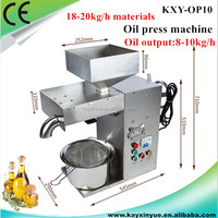 Stainless steel hot sale oil press prickly pear seed oil extraction machine