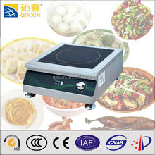 Desktop stainless steel induction infrared hot plate