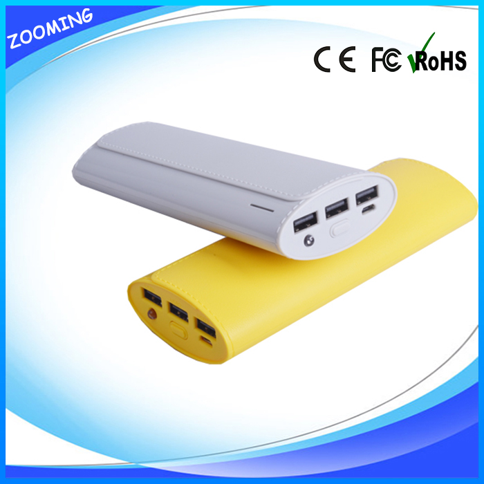 2016 Consumer electronics High quality high capacity of OEM power bank 12000 mah charger with charging cable