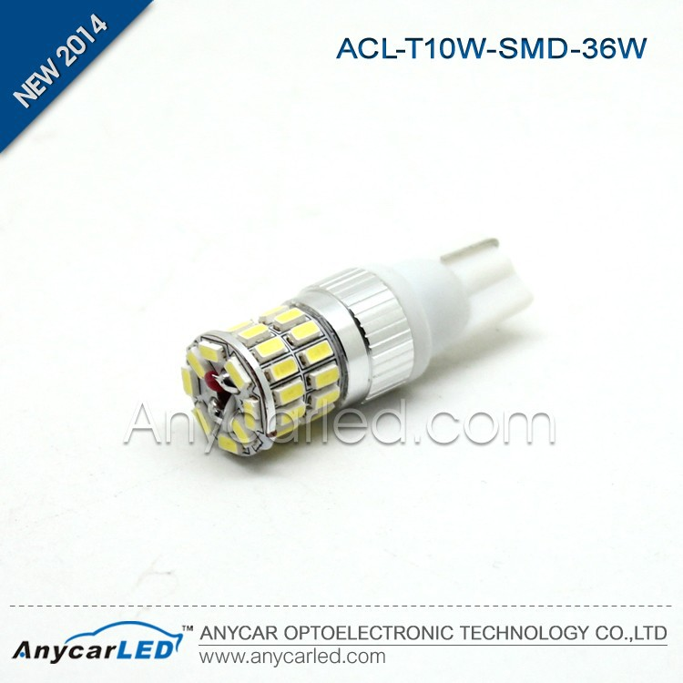 Anycar LED auto lamp SMD 36W T10 Reading light Epistar chips
