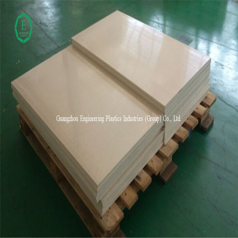 High precise plastic sheet peek material Aviation part hard plastic peek sheet
