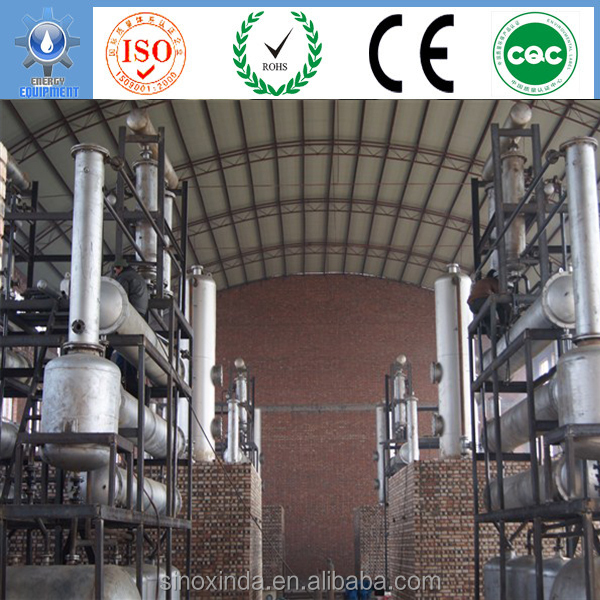 how to manufacture engine oil of base oil regeneration