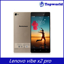 Hot selling Smartphone Android 4.4 Qualcomm Octa Core RAM 2GB ROM 16GB 5.3 Inch 13.0MP 4G LTE Lenovo VIBE X2 Pro Mobile Phone