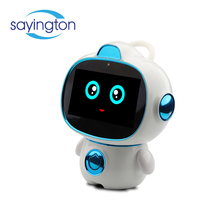 plastic study humanoid intelligent voice early children screen robot toy