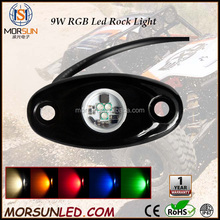 "RGB min 2.75"" 9W Offroad LED Rock Light, Multifunction Led Tail Dome Light, 4X4 Car Led Side Marker Lamp"