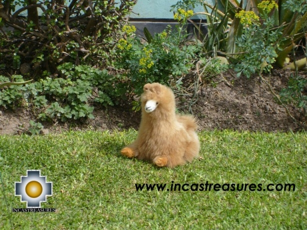 "ALPACA STUFFED ANIMALS,Peruvian Andes Llama "" Chevere"""