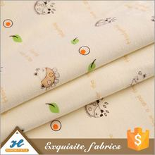 2016 New arrival Cute Knitting cotton fabric printed