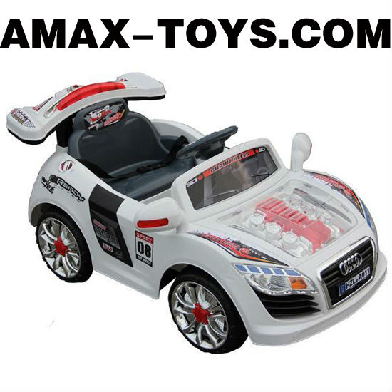 rr-6610118 rc ride on car 4ch fashionable electric remote control ride on car with music and light