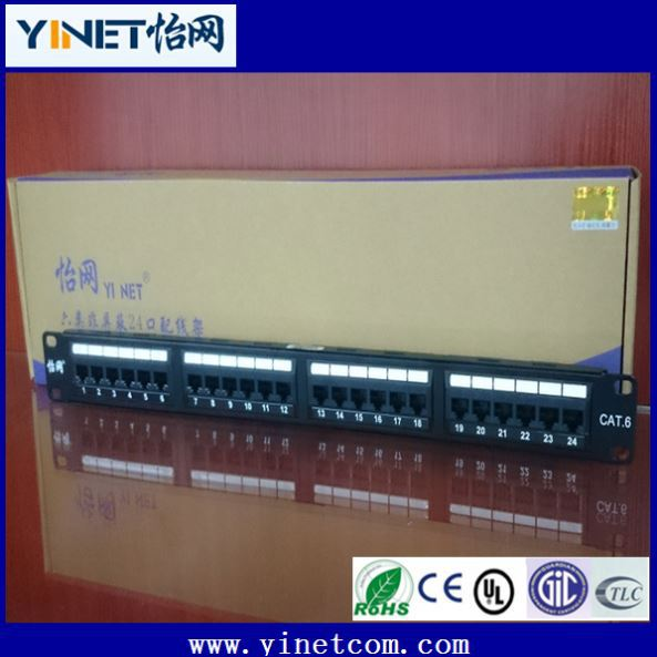 Premium 48 Port Cat6 Krone Patch Panel