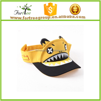 fashion children snapback visor caps