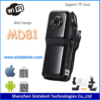 WIFI function Windows/IOS/Android system 5mp mini dv camera