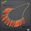 Brown Retro Queen statement necklace for women gift