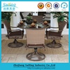 Most popular Clear Glass Top Outdoor Table coffee Shop Restaurant Furniture