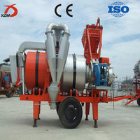 china famous brand mobile asphalt mixing plant with high quality