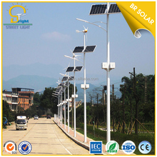 company 9 meters led solar street light pole fitting
